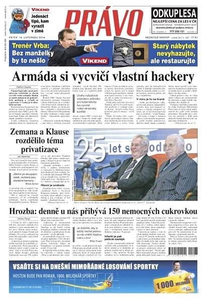 Právo - 14-11-2014 - Elektronické noviny