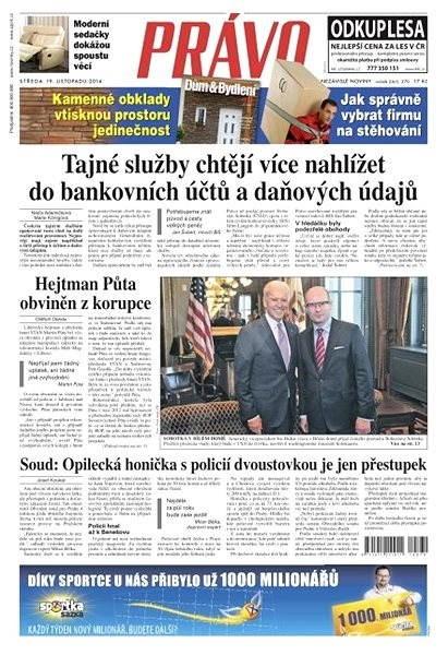 Právo - 19-11-2014 - Elektronické noviny