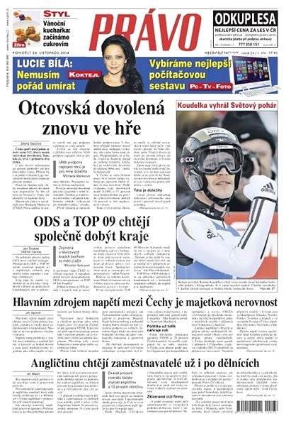Právo - 24-11-2014 - Elektronické noviny