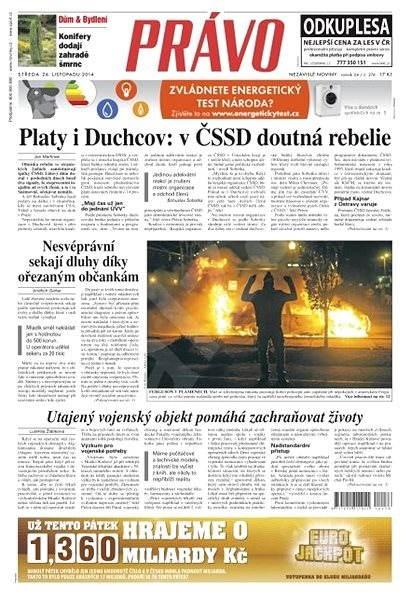 Právo - 26-11-2014 - Elektronické noviny