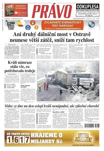Právo - 03-12-2014 - Elektronické noviny