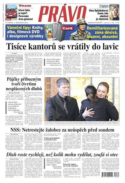 Právo - 04-12-2014 - Elektronické noviny