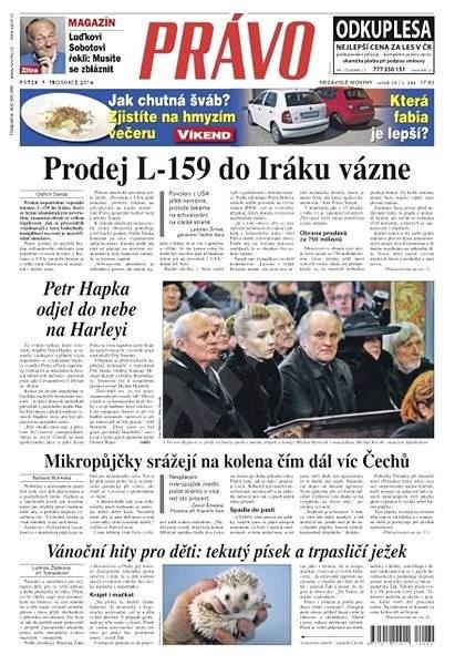 Právo - 05-12-2014 - Elektronické noviny