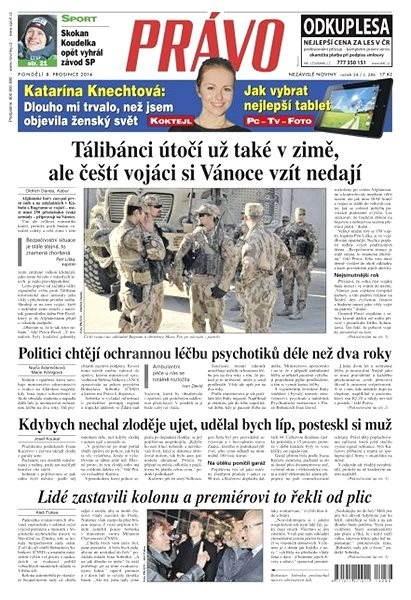 Právo - 08-12-2014 - Elektronické noviny
