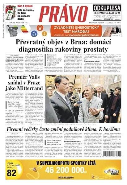 Právo - 10-12-2014 - Elektronické noviny