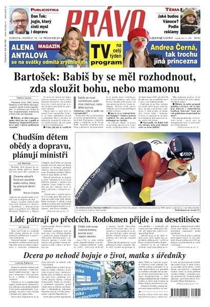 Právo - 13-12-2014 - Elektronické noviny