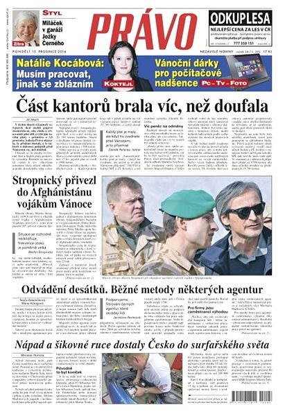 Právo - 15-12-2014 - Elektronické noviny