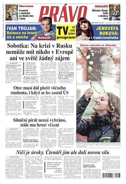 Právo - 20-12-2014 - Elektronické noviny