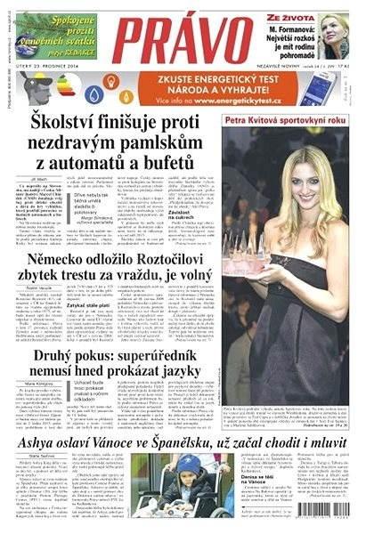 Právo - 23-12-2014 - Elektronické noviny