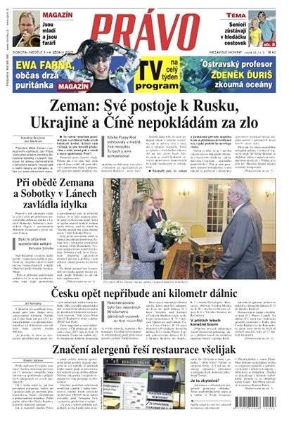 Právo - 03-01-2015 - Elektronické noviny
