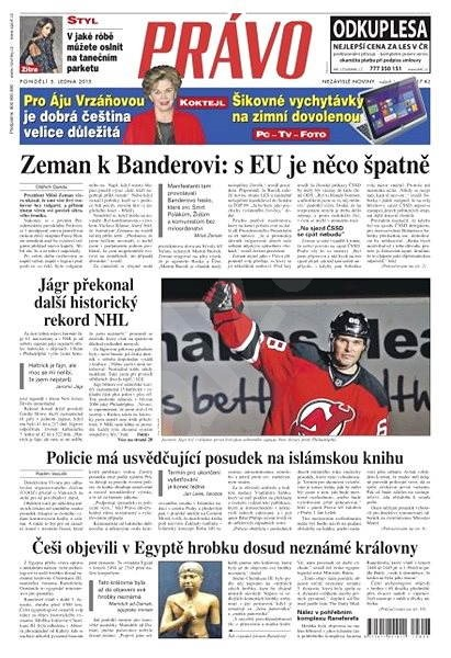 Právo - 05-01-2015 - Elektronické noviny