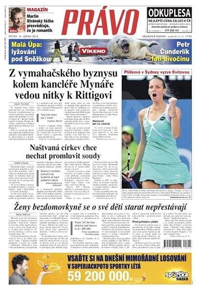 Právo - 16-01-2015 - Elektronické noviny