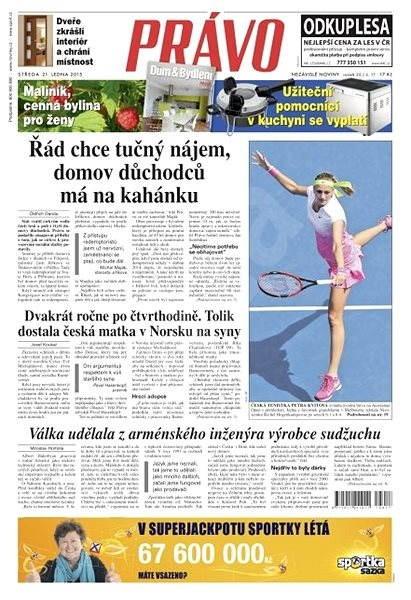 Právo - 21-01-2015 - Elektronické noviny