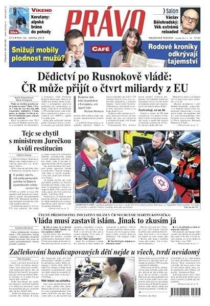Právo - 22-01-2015 - Elektronické noviny
