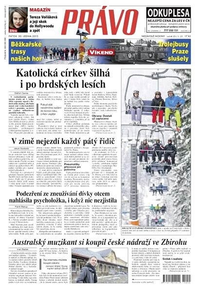 Právo - 30-01-2015 - Elektronické noviny