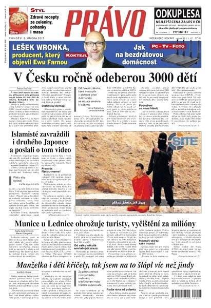 Právo - 02-02-2015 - Elektronické noviny