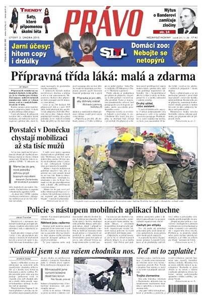 Právo - 03-02-2015 - Elektronické noviny