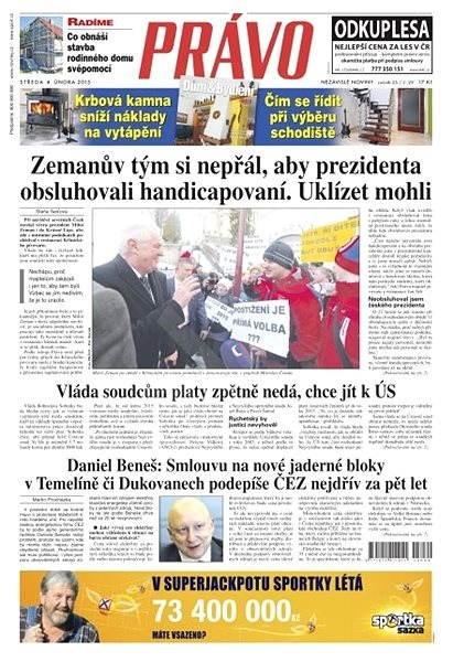 Právo - 04-02-2015 - Elektronické noviny