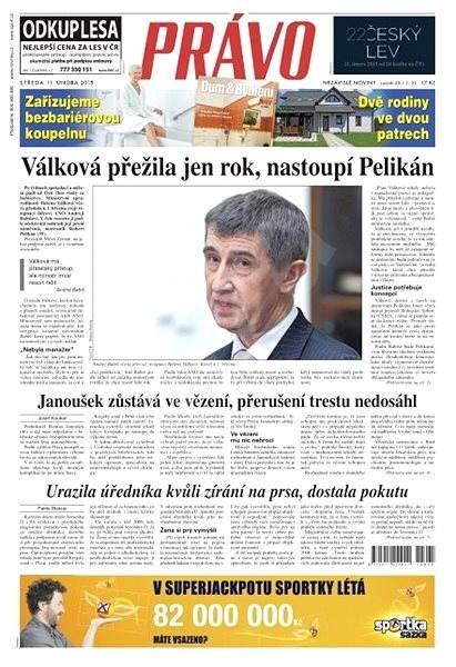 Právo - 11-02-2015 - Elektronické noviny