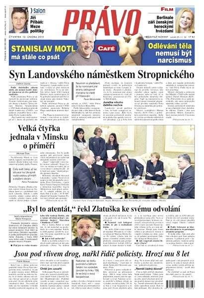 Právo - 12-02-2015 - Elektronické noviny