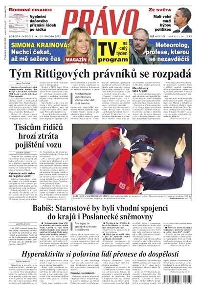 Právo - 14-02-2015 - Elektronické noviny