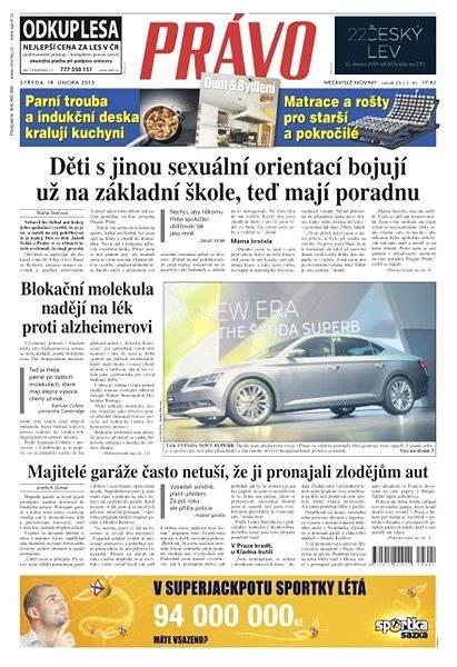 Právo - 18-02-2015 - Elektronické noviny