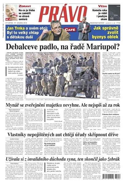 Právo - 19-02-2015 - Elektronické noviny