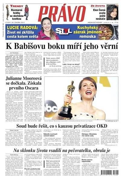 Právo - 24-02-2015 - Elektronické noviny
