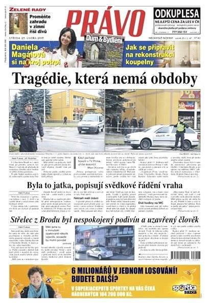 Právo - 25-02-2015 - Elektronické noviny