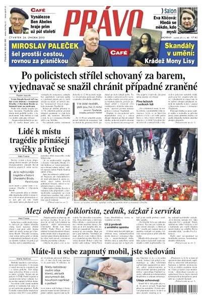 Právo - 26-02-2015 - Elektronické noviny