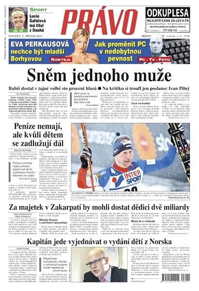 Právo - 02-03-2015 - Elektronické noviny