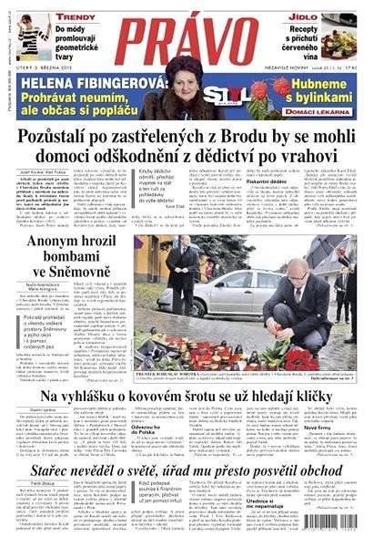 Právo - 03-03-2015 - Elektronické noviny