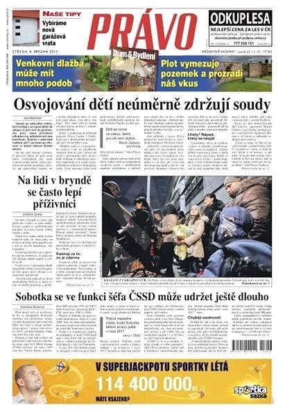 Právo - 04-03-2015 - Elektronické noviny
