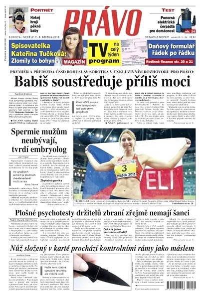 Právo - 07-03-2015 - Elektronické noviny
