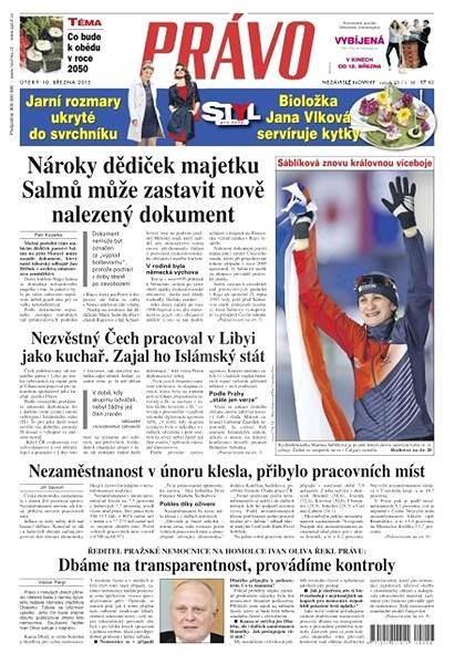 Právo - 10-03-2015 - Elektronické noviny
