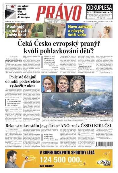 Právo - 11-03-2015 - Elektronické noviny