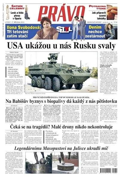 Právo - 17-03-2015 - Elektronické noviny