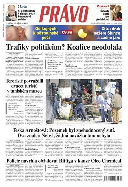 Právo - 19-03-2015 - Elektronické noviny