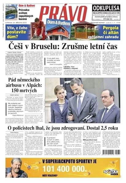 Právo - 25-03-2015 - Elektronické noviny