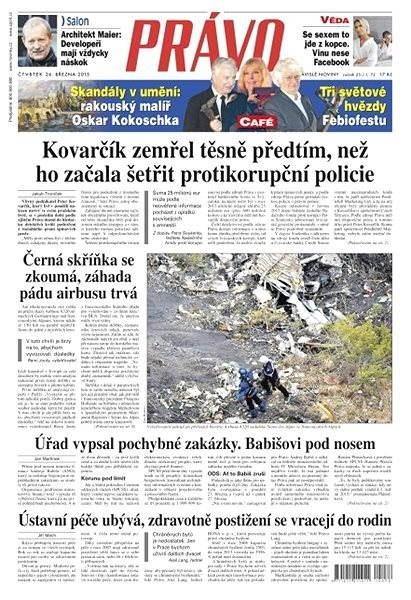 Právo - 26-03-2015 - Elektronické noviny