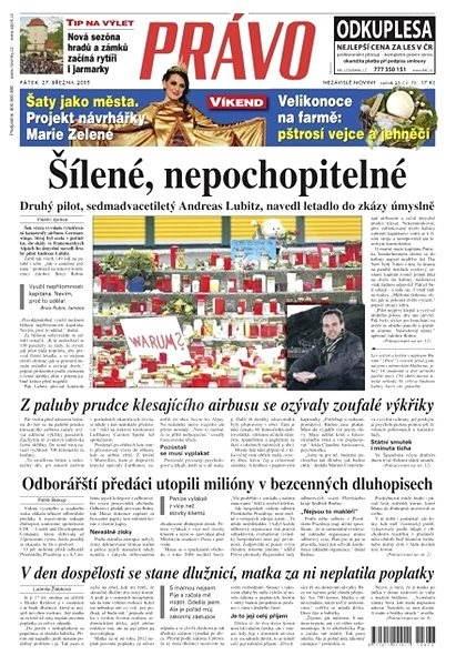 Právo - 27-03-2015 - Elektronické noviny