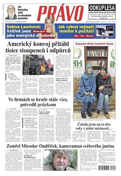 Právo - 30-03-2015 - Elektronické noviny