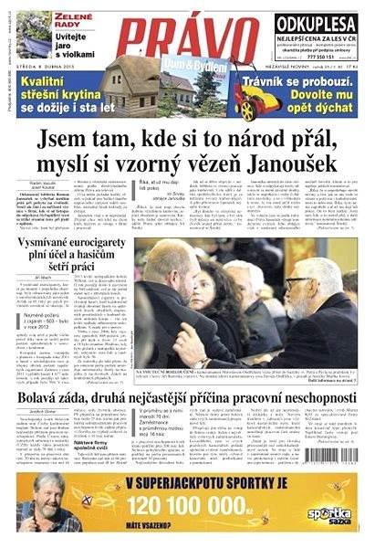 Právo - 08-04-2015 - Elektronické noviny