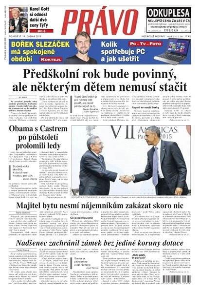 Právo - 13-04-2015 - Elektronické noviny