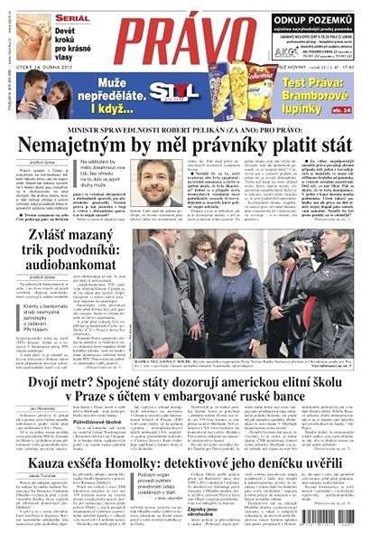 Právo - 14-04-2015 - Elektronické noviny