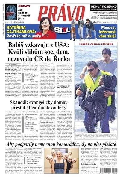 Právo - 21-04-2015 - Elektronické noviny