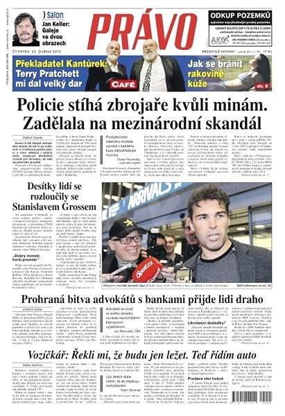 Právo - 23-04-2015 - Elektronické noviny