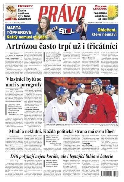 Právo - 12-05-2015 - Elektronické noviny