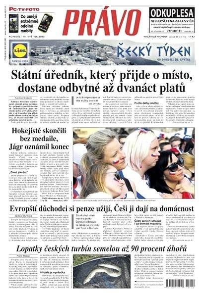 Právo - 18-05-2015 - Elektronické noviny
