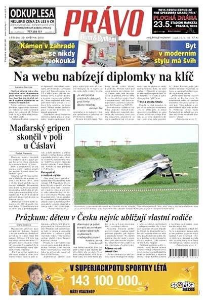 Právo - 20-05-2015 - Elektronické noviny